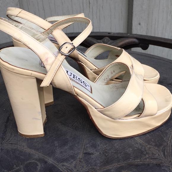 ShoesVintage Heels Guess Heels Poshmark ShoesVintage Guess Poshmark fY6bgyI7vm